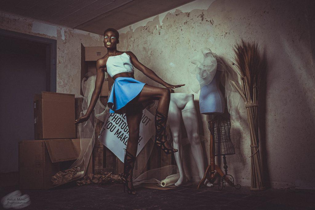 Fashionbild-einer-Afrikanerin