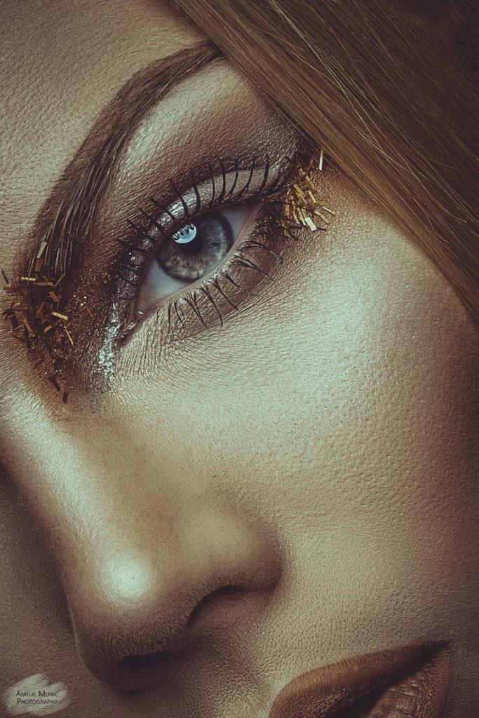 Closeup-Gesicht