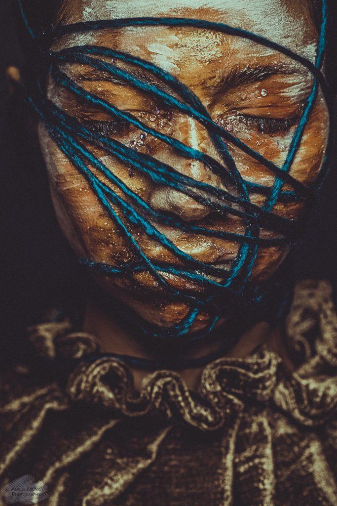 Kunst-Portrait-einer-Frau